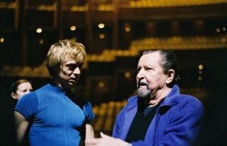 Vladimir Malakhov und Maurice Béjart