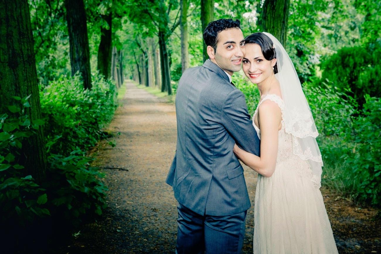 Krasina Pavlova & Arshak Ghalumyan trauten sich in Berlin. Foto: Daniel Sonnentag